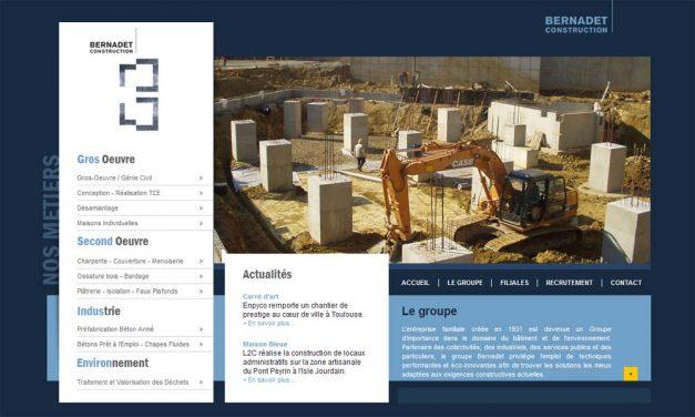 Bernadet Construction expert de la construction en Aquitaine Midi-Pyrénées