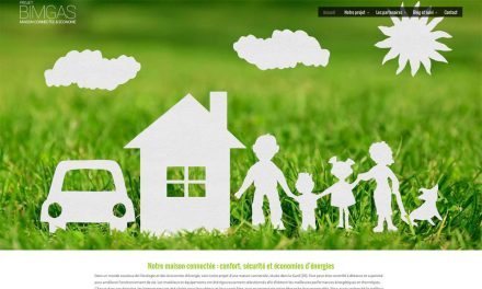 Le projet d'une maison connectée et éco-responsable : Bimgas