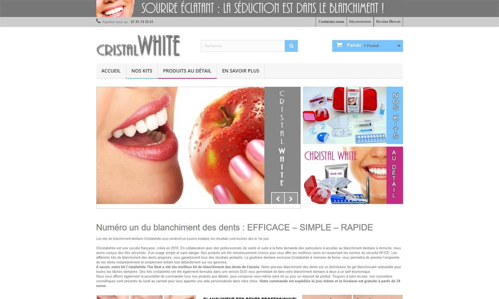 Sourire Des Cristal Pour Dents Blanchiment Un Éclatant WhiteKit c3K5lF1JuT