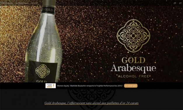 Gold Arabesque, l'effervescent sans alcool !