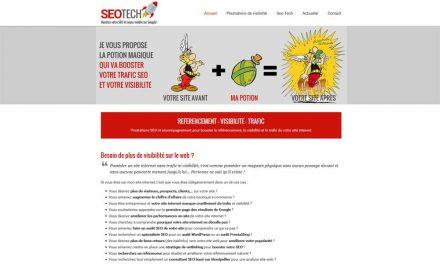 Prestations SEO et visibilité Google : Seo-Tech