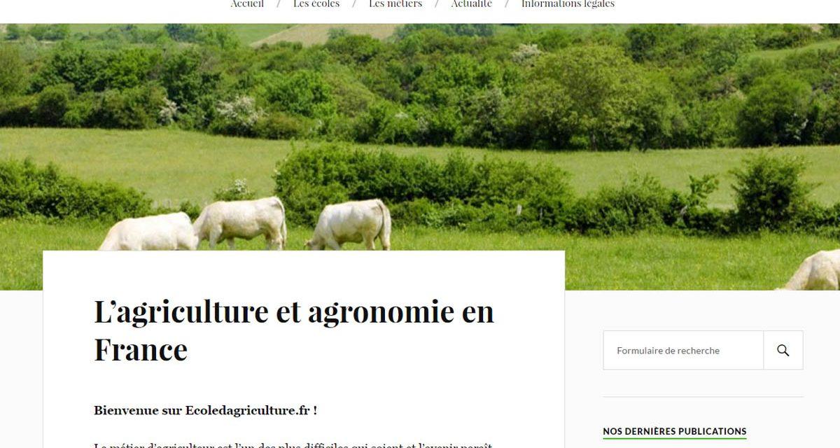 Écoles et métiers de l'agriculture et de l'agronomie