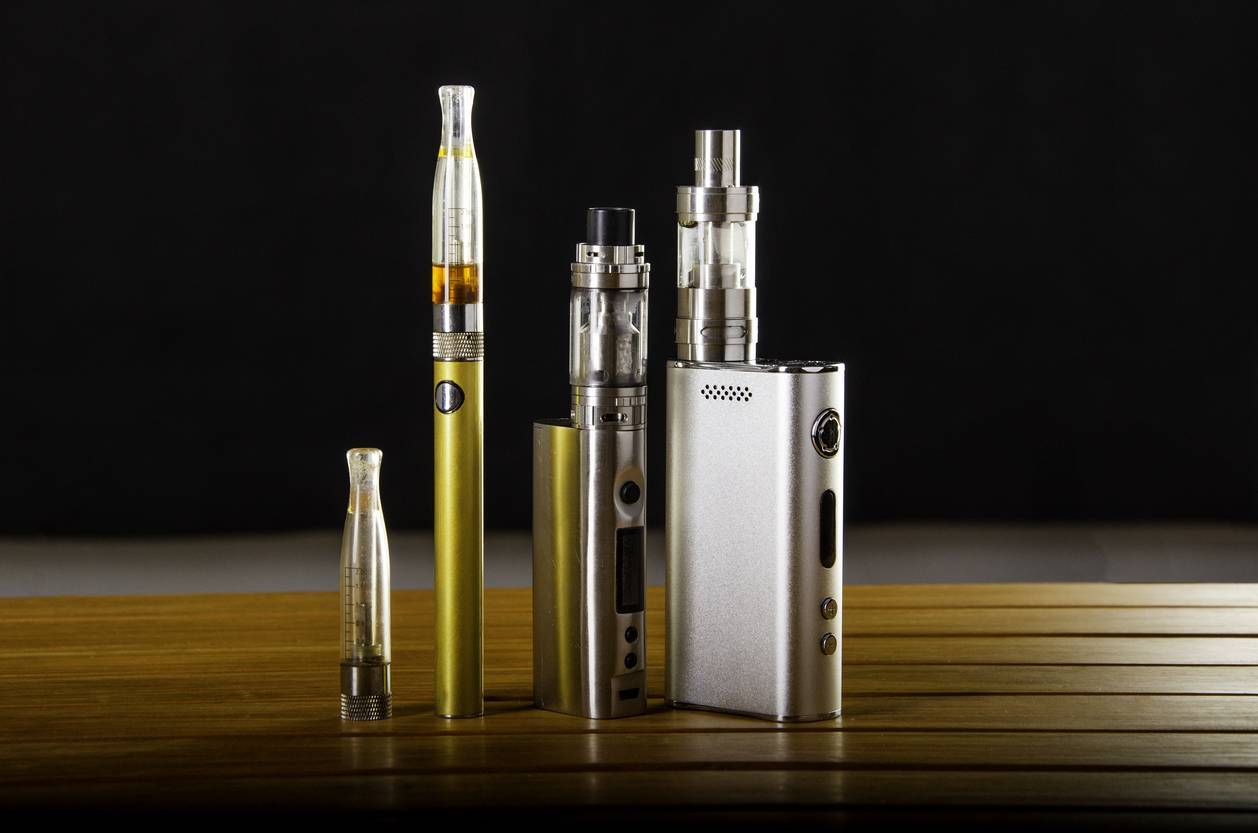 différents formats e-cigarette