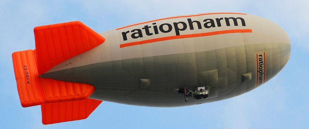 Ballon dirigeable publicitaire