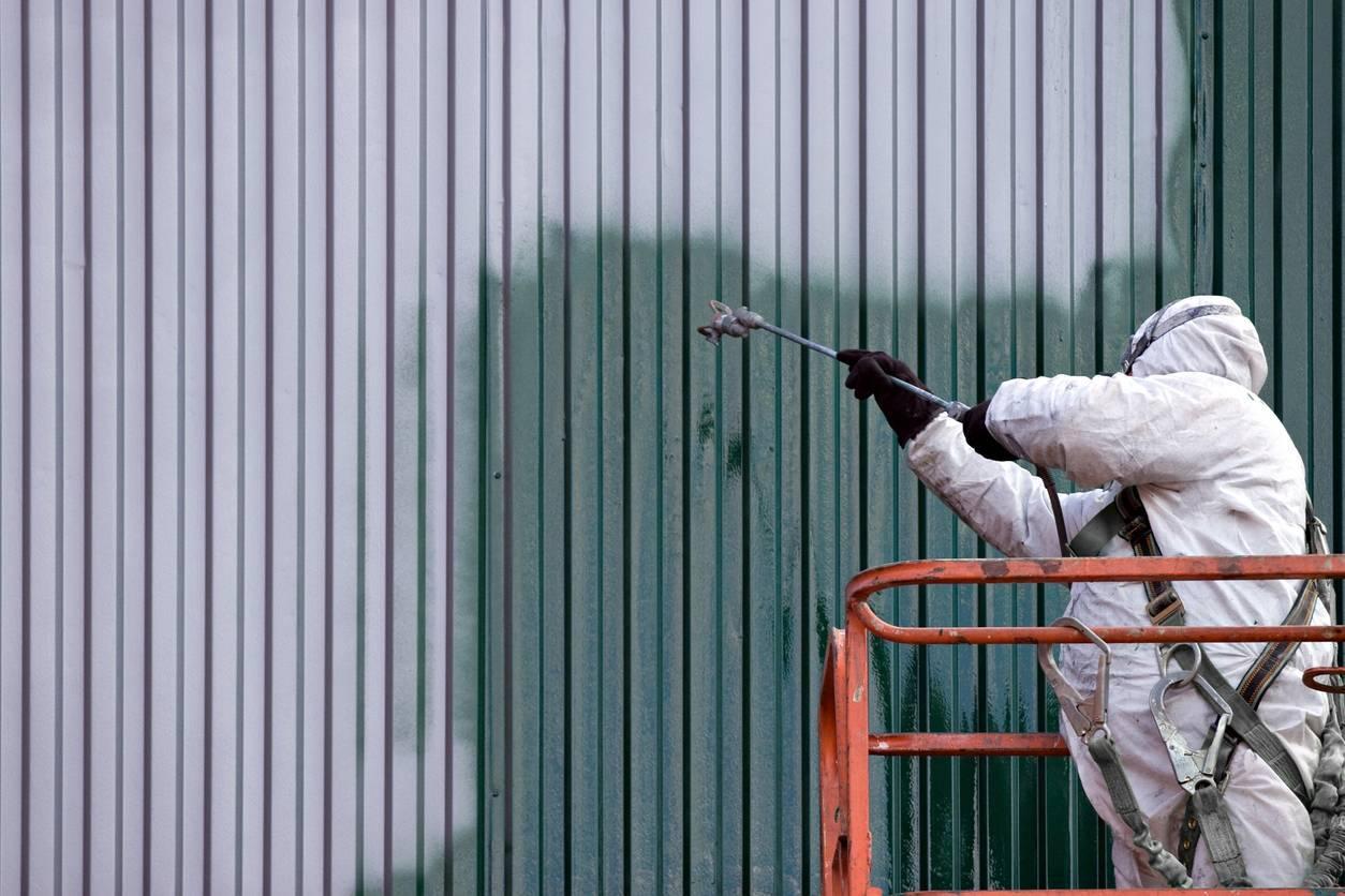 entreprise de peinture industrielle